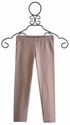 Biscotti Little Girl Leggings Gold Shimmering Rose