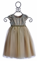 Biscotti Little Girls Ballerina Dress in Green