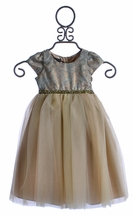 Biscotti Little Girls Ballerina Dress in Green (6Mos & 9Mos)
