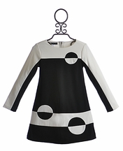 Biscotti Long Sleeve Black Dress for Girls (Size 6X)