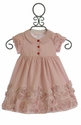 Biscotti Lots of Dots Little Girls Dress in Red
