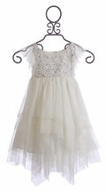 Biscotti Once Upon a Princess Dress with Beading (Size 4)