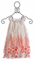 Biscotti Orange Polka Dot Dress for Girls