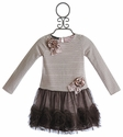 Biscotti Party Mix Pink Little Girls Dress