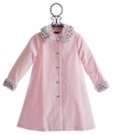 Biscotti Pink Velvet Girls Dress Coat Twinkle Twinkle