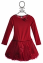 Biscotti Pocketful of Posies Girls Red Holiday Dress