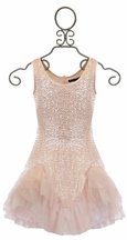 Biscotti Sequin Dress with Ruffles (4 & 7)