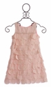 Biscotti Sweet Reverie Little Girls Dress Pink Petals