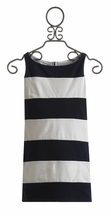 Biscotti Tween Dress in Navy and White Stripe (7,8,12)