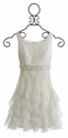 Biscotti Tween White Special Occasion Dress