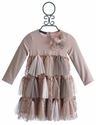 Biscotti Twist of Fate Little Girls Dress in Tulle