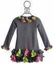 Biscotti Urban Garden Casual Girls Dress with Flowers
