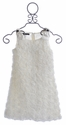 Biscotti White Standing Ovation Girls Party Dress