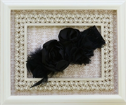 Black Headband Infant and Toddler by LaBella Flora