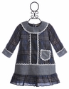 Blu Pony Vintage Harriet Plaid Toddler Girls Dress
