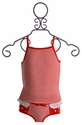 Bluebelle Little Girls Top and Panty Set Red Heart