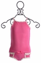 Bluebelle Panty Set for Girls in Berry Pink