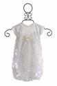 Cach Cach Baby Coming Home Outfit - Ivory Gown