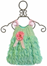 Cach Cach Baby Girl Romper with Ruffles (Size 18Mos)