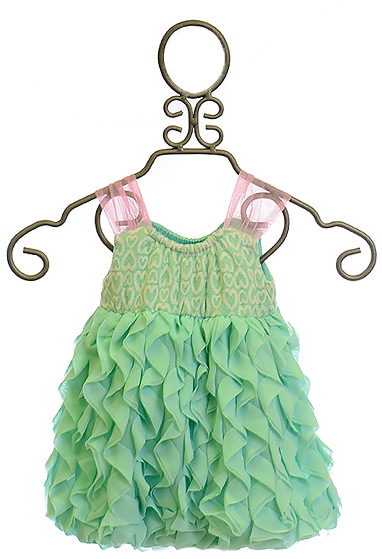 Cach Cach Baby Girl Romper With Ruffles