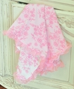 Cach Cach Baby Girls Pink Blanket China Doll