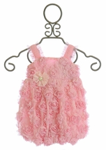 Cach Cach Cotton Candy Rose Baby Romper (3Mos & 6Mos)