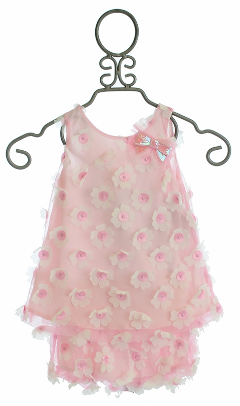 Cach Cach Delicate Daisies Baby Bloomer Set