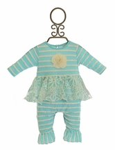 Cach Cach Girls Blue Daisy Romper