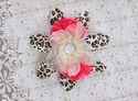 Cach Cach Girls Flower Hair Clip Rockabye Baby