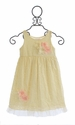 Cach Cach Girls Flowers Girls Dress in Ivory Lace