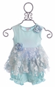 Cach Cach Infant Girls Dress in Blue