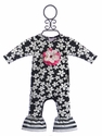 Cach Cach Infant Romper Floral Fun