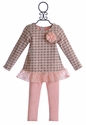 Cach Cach Long Sleeve Tunic and Pant for Little Girls