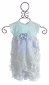 Cach Cach Newborn Baby Gown in Blue