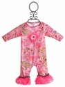 Cach Cach Soho Cute Pink Romper for Girls