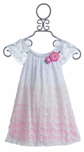 Cach Cach Sugar Baby Girls Dress (Size 12 Mos)