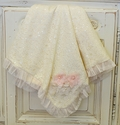 Cach Cach Sugar Frosted Lace Blanket