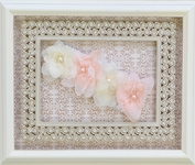 Cach Cach Sugar Frosted Lace Headband in Ivory