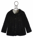 Cach Cach Twilight Twirls Girls Black Winter Coat