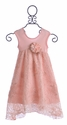 CachCach Elegant Dress for Girls Lace Birthday