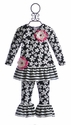 CachCach Frilly Girls Top and Pant
