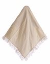 CachCach Infant Girls Blanket in Ivory Blooms