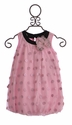 CachCach Little Girls Dress Leopard Dot