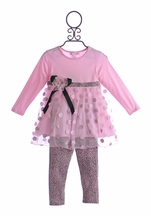 CachCach Little Girls Top and Pant (Size 3T)