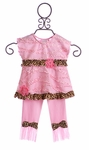 CachCach Pink with Leopard Girls Outfit