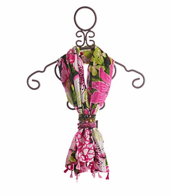 Catimini Girls Fashion Scarf Floral