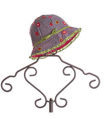 Catimini Girls Summer Hat Reversible