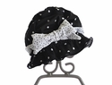 Chichanella Bella Black Swim Hat Licorice Twist