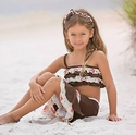 Chichanella Bella Brown Swimsuit Summer of Love