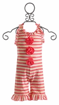 Chichanella Bella Cabana Cutie One Piece Girls Swim Suit (Size 12Mos)